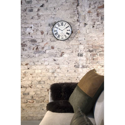 NeXtime Amsterdam Dome Wall Clock Black 30cm 573231 Lifestyle1