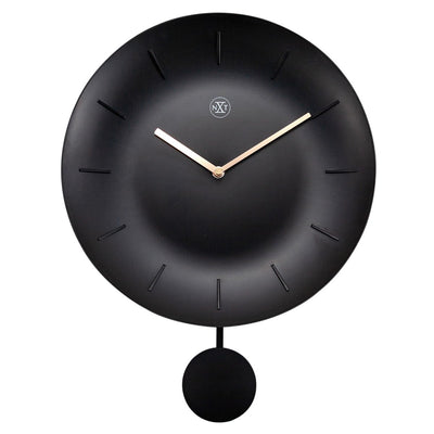 NeXtime Black Bowl Wall Clock 30cm 577339ZW 2