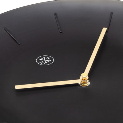 NeXtime Black Bowl Wall Clock 30cm 577339ZW 3