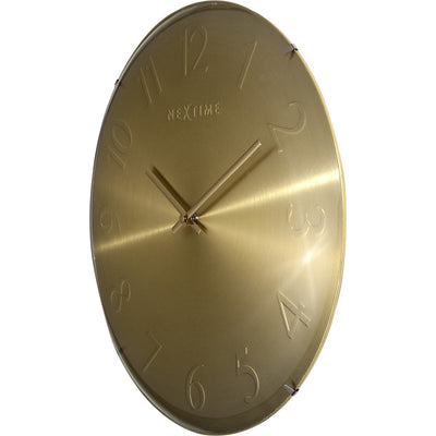 NeXtime Elegant Dome Wall Clock Gold 35cm 573236GO 3