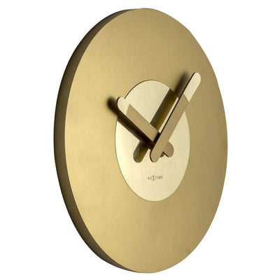 NeXtime In Touch Wall Clock Gold 40cm Angle 573189GO