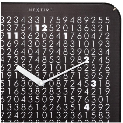 NeXtime Labyrinth Wall Clock Black 35cm 573244 3