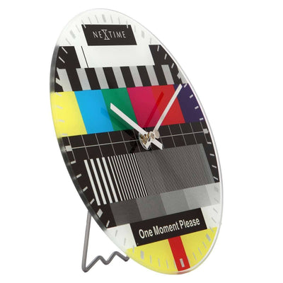 NeXtime Little Test Page Wall Clock 20cm Angle 575162