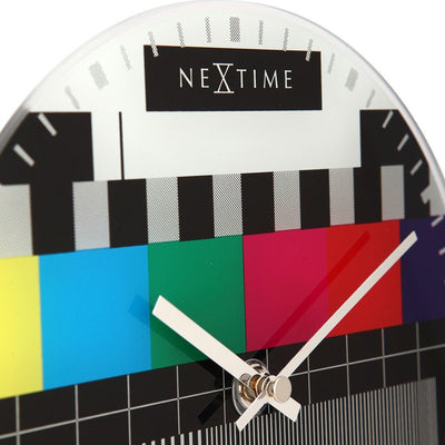 NeXtime Little Test Page Wall Clock 20cm Zoom Dial 575162