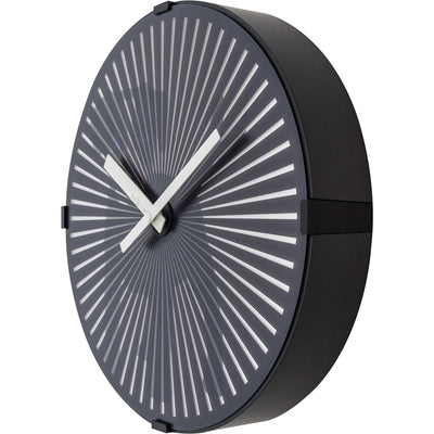 NeXtime Motion Dog Wall Clock Black 31cm 573225 3