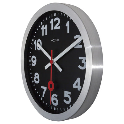 NeXtime Numerical Station Wall Clock Black 35cm 573999ARZW 4