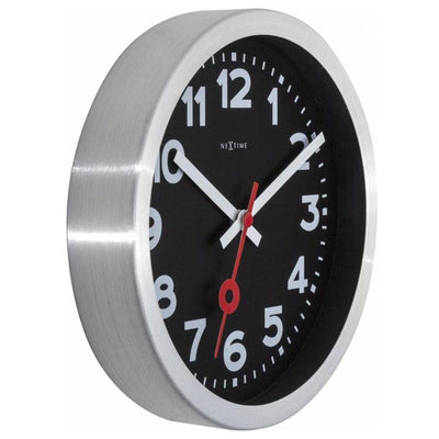 NeXtime Numerical Station Wall Clock Black 35cm 573999ARZW 6