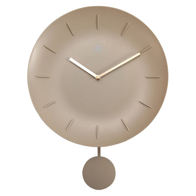 NeXtime Off white Bowl Wall Clock 30cm 577339BE 2