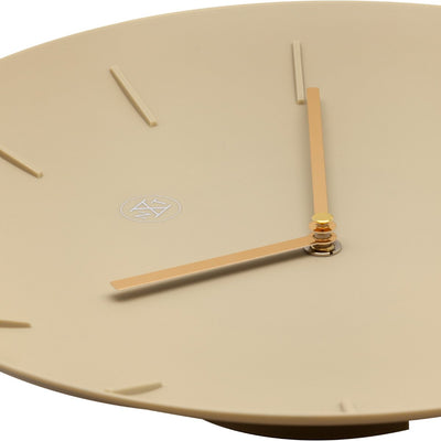 NeXtime Off white Bowl Wall Clock 30cm 577339BE 3