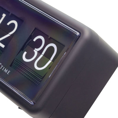 NeXtime Small Flip Wall or Desk Clock Black 18cm 575228ZW 6