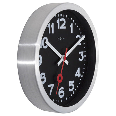 NeXtime Station Number Wall or Desk Clock Black 19cm 573998ARZW 6