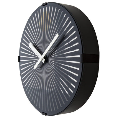 NeXtime Walking Man Motion Wall Clock Black 30cm 573219 1