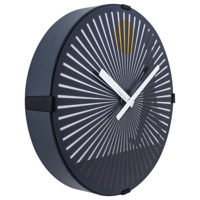 NeXtime Walking Man Motion Wall Clock Black 30cm 573219 4