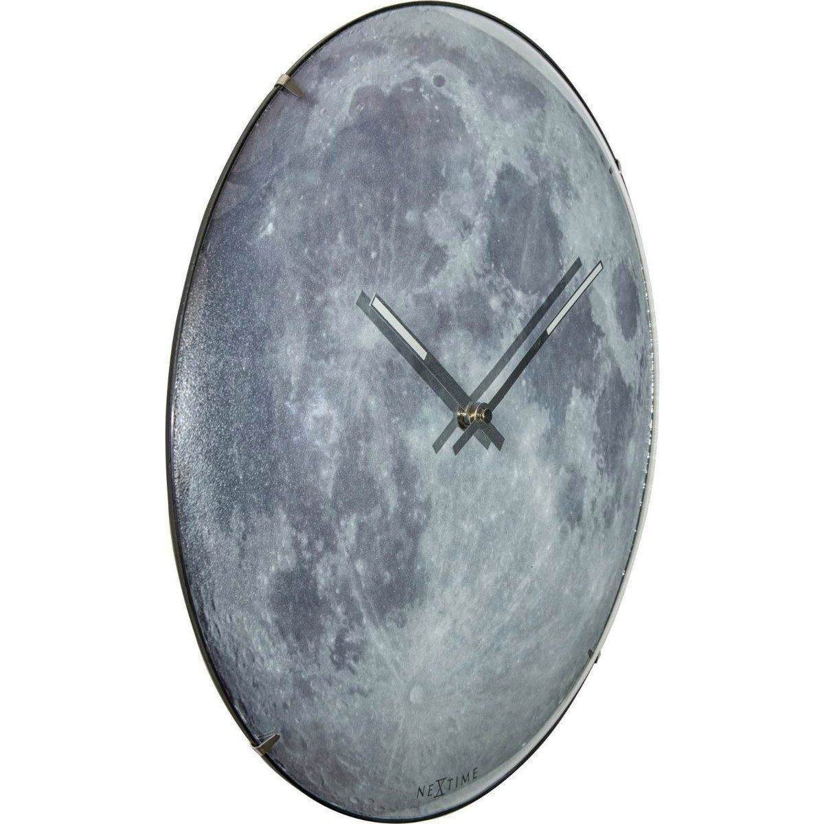Buy NeXtime Blue Moon Glass Dome Glow In The Dark Wall ...