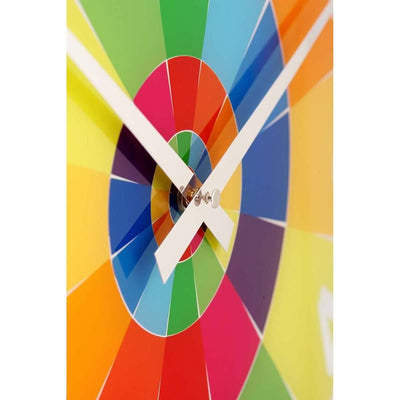 NeXtime Rainbow Glass Wall Clock Zoom1 43cm 578129