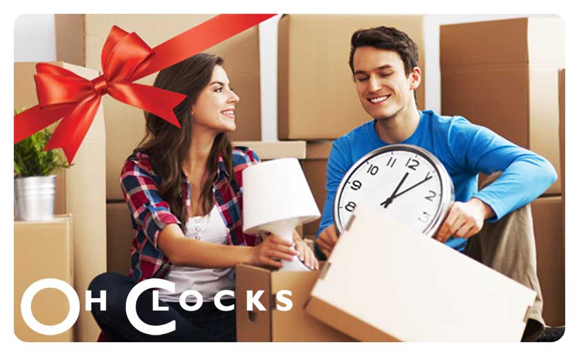 Oh Clocks Gift Card