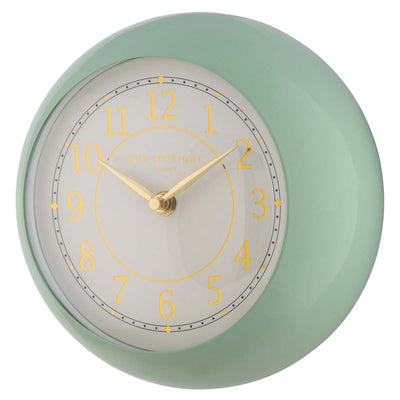 One Six Eight London Emily Wall Clock Green 21cm 22138 3