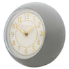 One Six Eight London Emily Wall Clock Grey 21cm 22139 1