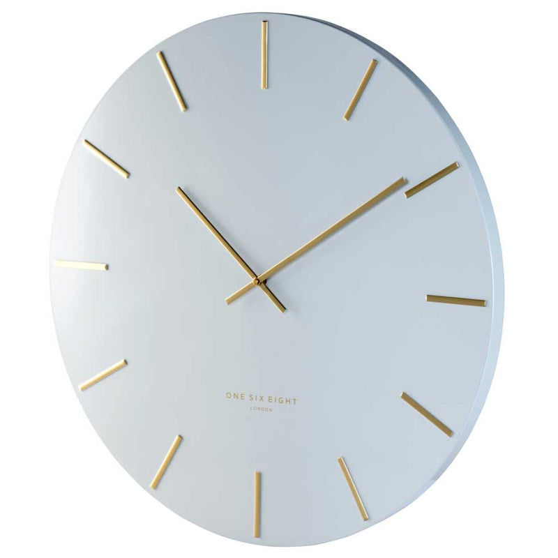 One Six Eight London Luca Wall Clock White 40cm CK7020 Lifestyle