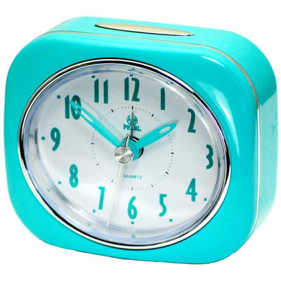 Pearl Time Betty Alarm Clock Blue 9cm PT220 BU 1