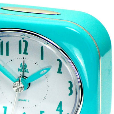 Pearl Time Betty Alarm Clock Blue 9cm PT220 BU 2