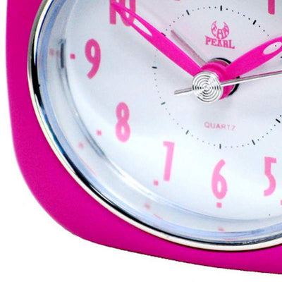 Pearl Time Betty Alarm Clock Pink 9cm PT220 PK 3
