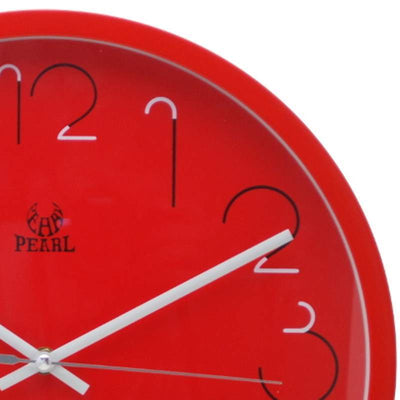 Pearl Time Gatsby Wall Clock Red 36cm PW331RED 2