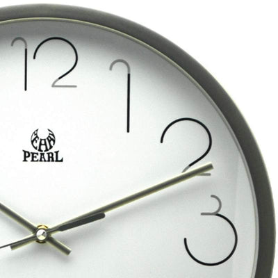 Pearl Time Gatsby Wall Clock Silver 36cm PW331SIL 2