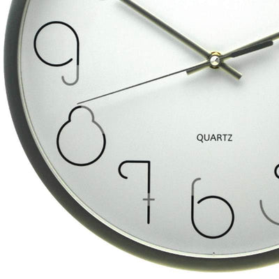 Pearl Time Gatsby Wall Clock Silver 36cm PW331SIL 3