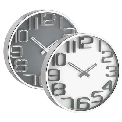TFA 3D Effect Wall Clock 30cm