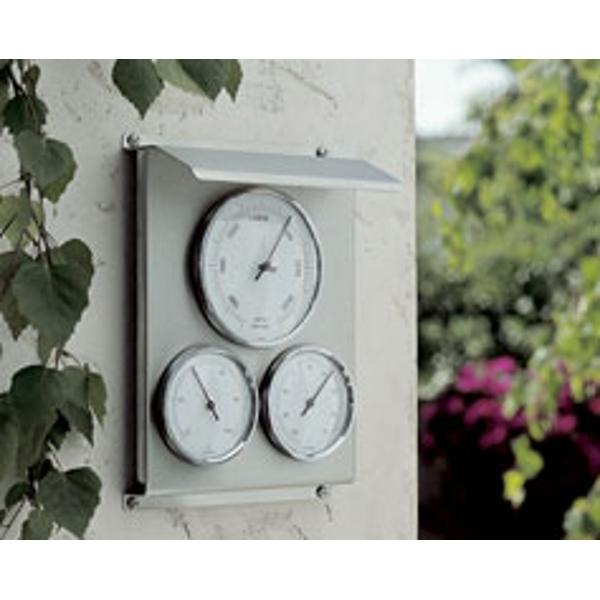 TFA Domatic Metal Outdoor Weather Station 22cm 20.2010.60 Front