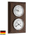 TFA Domatic Weather Station Walnut Finish 20cm 20.1087.03