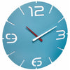 TFA Germany Alexi Contour Design Analogue Wall Clock Blue 35cm 60.3047.14 1