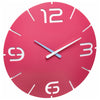 TFA Germany Alexi Contour Design Analogue Wall Clock Pink 35cm 60.3047.12 1