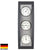 TFA Germany Baron Analogue Wood and Aluminium Weather Station Dark Grey 39cm 20.1082.17 1