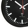 TFA Germany Danny Analogue Wall Clock Black 25cm 60.3513 3