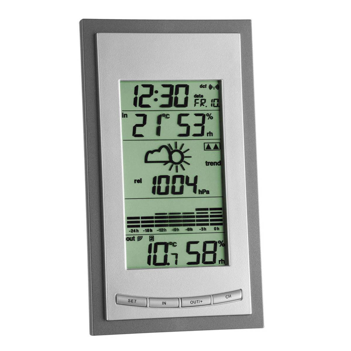 TFA Germany Diva Plus Digital Wireless Weather Station 18cm 35.1078.10.IT 1