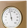 TFA Germany Gordon Analogue Solid Wood Weather Station Beech Natural 35cm 20.1028.05 2