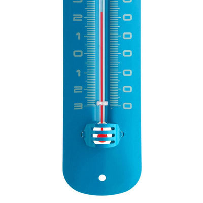 TFA Germany Grant Indoor Outdoor Metal Thermometer Blue 20cm 12.2051.06 3