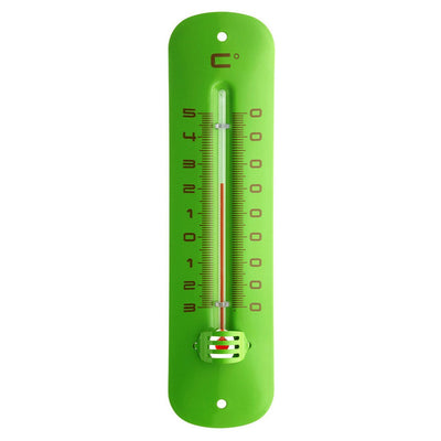 TFA Germany Grant Indoor Outdoor Metal Thermometer Green 20cm 12.2051.04 1