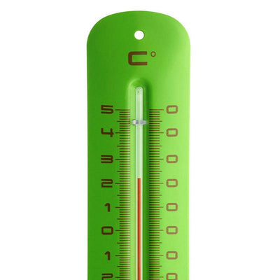 TFA Germany Grant Indoor Outdoor Metal Thermometer Green 20cm 12.2051.04 2