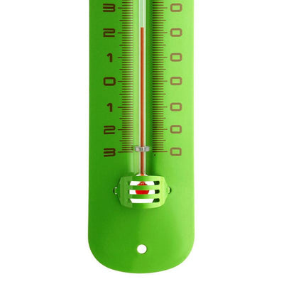 TFA Germany Grant Indoor Outdoor Metal Thermometer Green 20cm 12.2051.04 3
