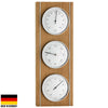 TFA Germany Harvey Analogue Outdoor Weather Station Natural Oak 36cm 20.1091.01 1
