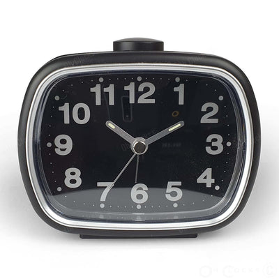 TFA Germany Herbert Alarm Clock Black 60cm 60.1017.01 2