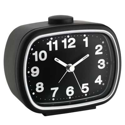 TFA Germany Herbert Retro Alarm Clock Black 11cm 60.1017.01 6
