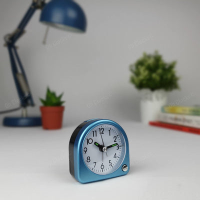 TFA Germany Lily Mini Alarm Clock Blue 7cm 60.1020.06 1