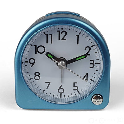 TFA Germany Lily Mini Alarm Clock Blue 7cm 60.1020.06 2