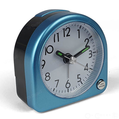 TFA Germany Lily Mini Alarm Clock Blue 7cm 60.1020.06 3