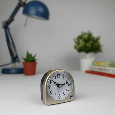 TFA Germany Lily Mini Alarm Clock Gold 7cm 60.1020.53 1