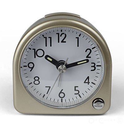 TFA Germany Lily Mini Alarm Clock Gold 7cm 60.1020.53 2